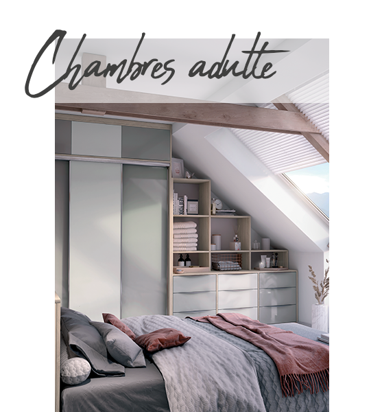 Chambres adulte Archea